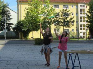 Wir können auch synchron Jonglieren!
